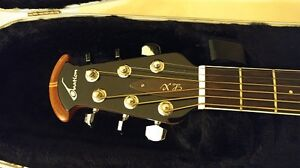 (reduced!!) Ovation acoustic giutar with hard case - $550 Peterborough Peterborough Area image 2