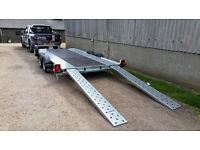 "Car Transporter Trailer - New Woodford WBT131 16' x 6'6"""