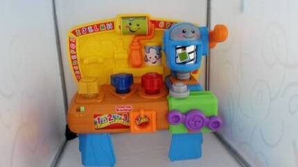 Fisher Price Tool Bench - Lights and Music