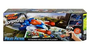 NEW: Air Hogs Adventures Tethered Helicopter Play Set