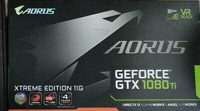 Gigabyte Aorus GeForce GTX 1080 Ti 11GB GDDR5+ Extreme Edition mint condition
