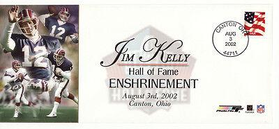 JIM KELLY BUFFALO BILLS NFL FOOTBALL HOF ENSHRINEMENT USPS EVENT COVER