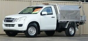 2016 Isuzu D-MAX TF MY15.5 SX (4x4) White 5 Speed Automatic Cab Chassis Lismore Lismore Area Preview