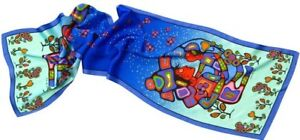 100% Silk Scarves with Aboriginal Art for Christmas
