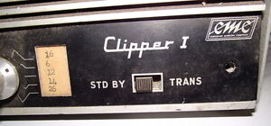 CLIPPER  1 made in canada tube type marine radio for parts $5