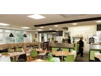 waiting staff required for busy cafe