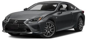 2015 Lexus RC 350 F SPORT 2 w/ moonroof, backup camera and na...