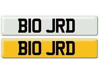 Private/Cherished Number Plate B10 JRD