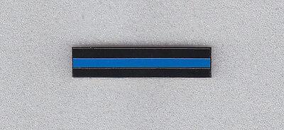 THIN BLUE LINE Silver Mourning/Award/Commendation Uniform Bar police/sheriff