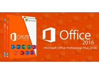 MICROSOFT OFFICE PROFESSIONAL PLUS 2016 DISK 32 BIT