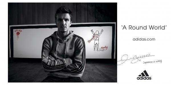 David Beckham Print Canvas
