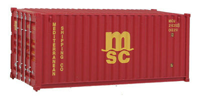 H0 Container 20 Fuß Mediterranean Shipping Co MSC -- 8059 NEU