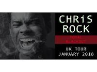 Chris Rock Total Blackout Tour Tickets London o2 27 January 2018