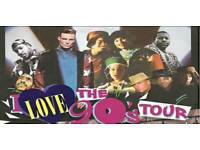 I LOVE THE 90'S TICKETS X2