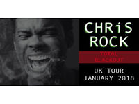 X2 CHRIS ROCK TICKETS BLACKOUT TOUR FRONT BLOCK SEATS JAN 14TH CHRISTMAS GIFT