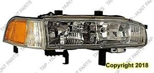 Head Light Passenger Side Honda Accord 1992-1993