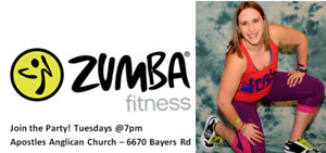 Tuesday Zumba with Charlene Atwood