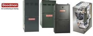 GOODMAN FURNACES AND AIR CONDITIONERS - FREE INSTALL - REBATES