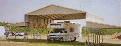 54 X 26 Deep Rv Carport Free Delivery Installation Pick-up Avail. Too