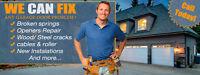 24/7 Garage Door Repair & Opener Repairs 403-829-4679