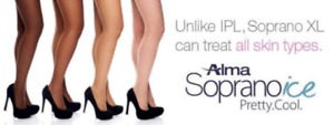 Laser hair removal With SooranoXli-ice(Alma)