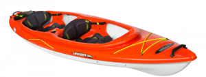 Pelican Unison 136T Tandem Kayaks with Paddles