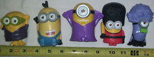 Qty 3 x 5 Minions Movie (Despicable Me) Figures Sets London Ontario image 3