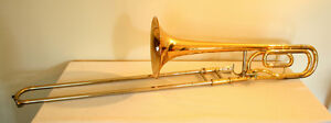 Yamaha Intermediate TENOR TROMBONE with F Attachment –Used