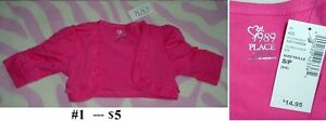 5T Girl's --- Sweater and Hoodie lot