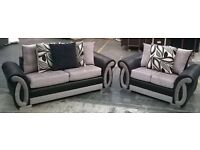 Stunning New DQF 3&2 Helix Sofa Only £599