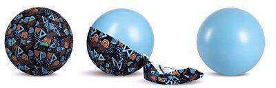55/65cm Exercise Ball for Yoga, Pilates, Gym w/ Ball Cover for Home Deco