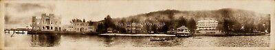 Fort Comfort Inn Resort Piermont New York Vintage Panoramic Photo Reprint 38  L