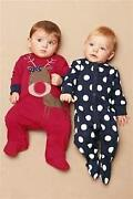 Next Boys Sleepsuits 0-3