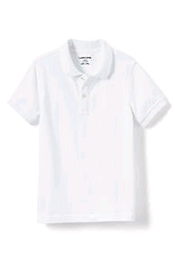 White school golf shirts long and short sleeve - Various sizes