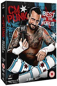 WWE : CM Punk - Best In The World (3 Discs) - New DVD