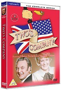 TWO'S COMPANY the complete series. Donald Sinden. 4 discs. New sealed DVD.