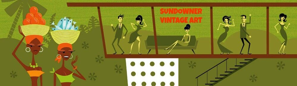 SUNDOWNER VINTAGE ART