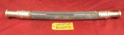 Weatherhead H43024 Hydraulic Hose 27 Length 1-12 Id 43024e Crimp Fittings