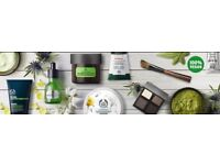 The Body Shop cosmetics for You!