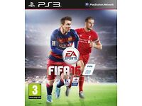 FIFA 16 GAME ON THE PS3