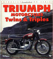 Triumph Motorcycles Twins & Triples Paperback as new