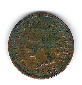 Coin 1888 USA 1 Cent Penny