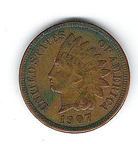 Penny 1907 USA