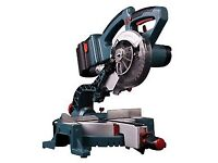 Erbauer 24 volt Single Bevel 165mm Mitre Saw