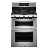Brand New+Gemini Gas+Double+Oven Range+True Convection($3000)