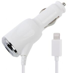 APPLE IPHONE 5 Genuine style car charger Iphone 5,iPod Touch 5,Nano 7, iPad mini