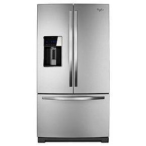 Réfrigérateur Whirlpool 36'' stainless, NEUF!
