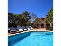 Yoga and Mindfulness Retreat Holiday in Villa with Pool on the Algarve Portugal May 28th to June 3rd