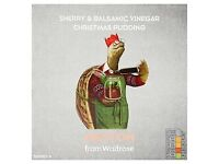 wanted: unopened Waitrose Heston sherry and vinegar Christmas pudding - will pay for it