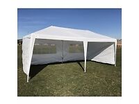 Palm Springs 3 x 6M Wedding Tent/Marquee with 4 Panels
